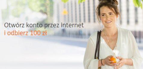 Załóż konto w ING Banku Śląskim i zyskaj dodatkowe 100 zł!