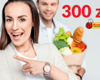 Zyskaj 300 zł na zakupy w Biedronce z kartą kredytową BGŻ BNP Paribas