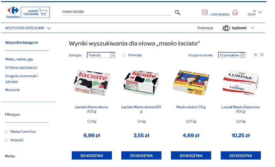 Carrefour_wyszukiwanie