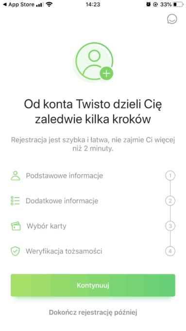 Twisto_rejestracja_krok2