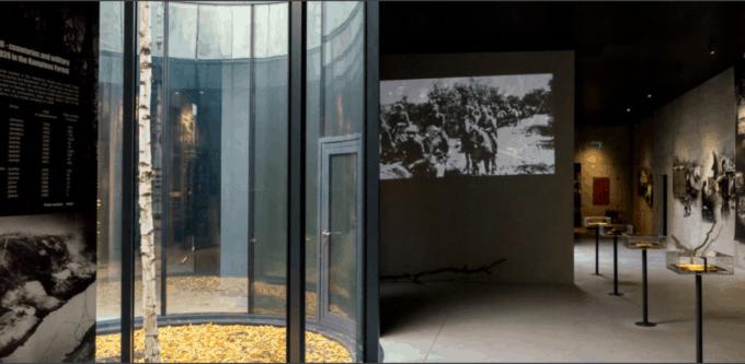 Ekspozycja poświęcona egzekucji w Palmirach i na terenie Puszczy Kampinoskiej