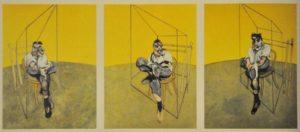 6 najdroższy obraz świata - Trzy studia do portretu Luciana Freuda