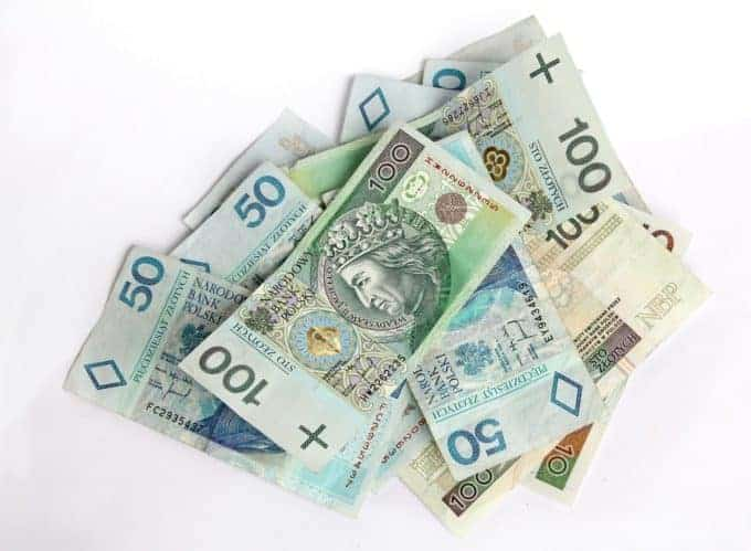 banknoty 100 i50 złotowe